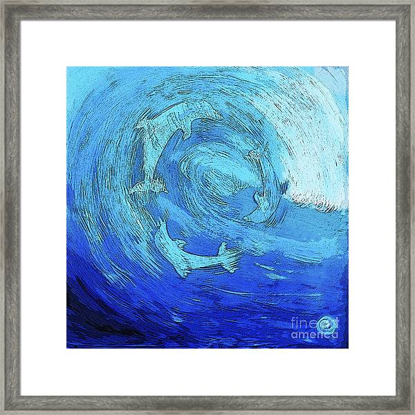 Green Dolphin Street Framed Print
