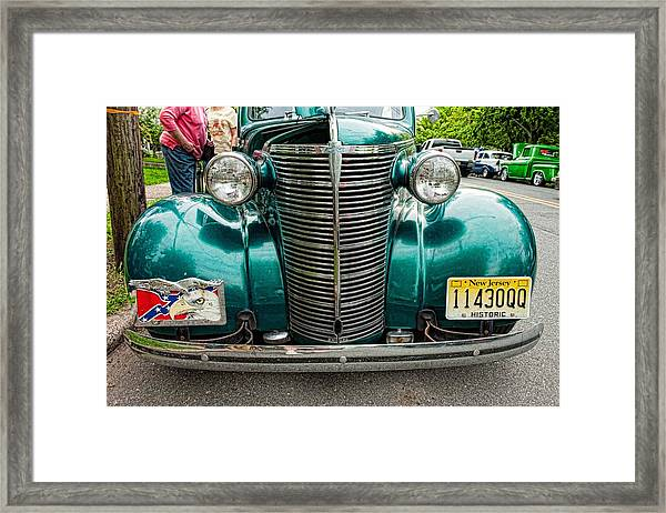 Green Machine Framed Print