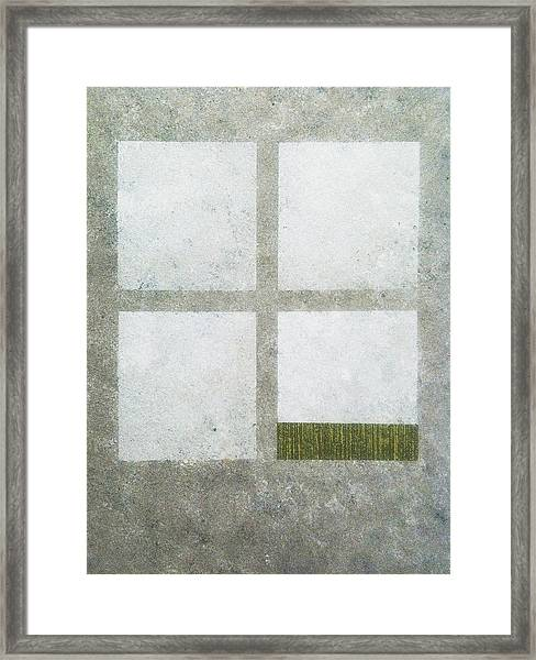 Green Painting 1 Framed Print