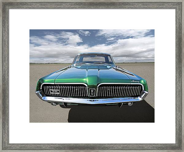 Green With Envy - 68 Mercury Framed Print
