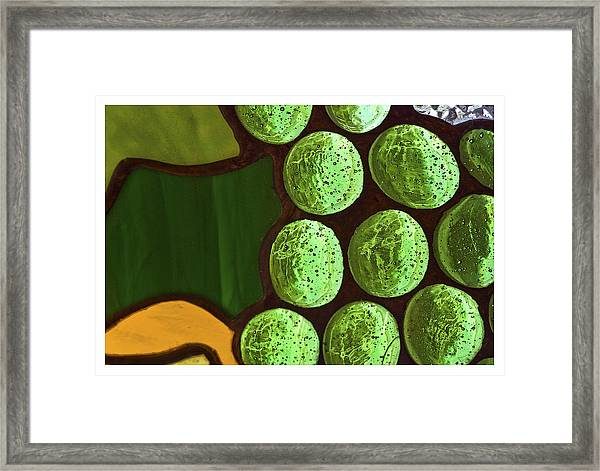 Green Yellow Framed Print
