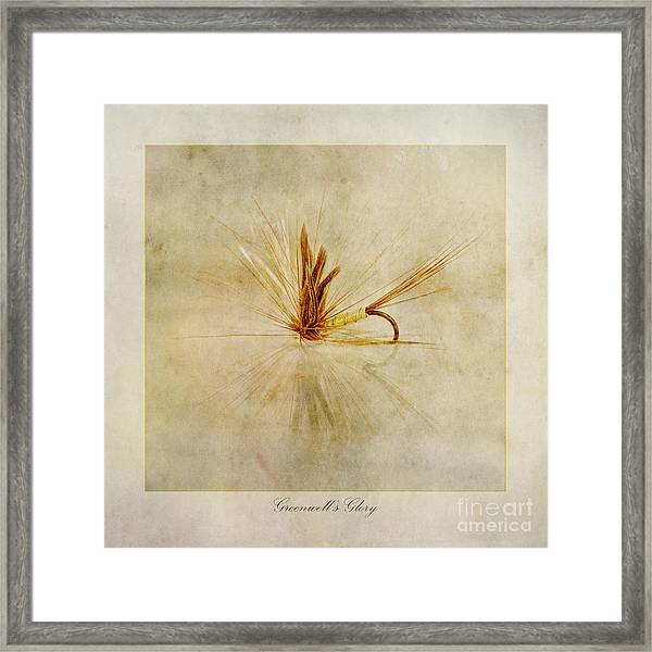Greenwells Glory Framed Print