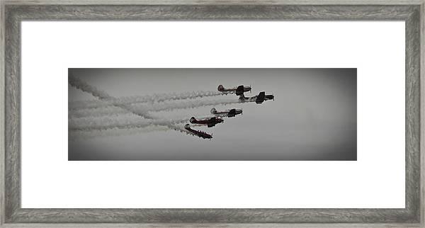 Greenwood Lake Airshow Northeast Raiders Framed Print
