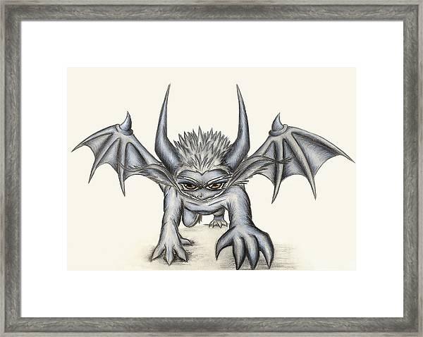 Grevil Framed Print