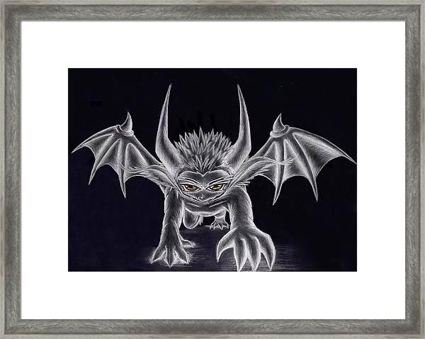Grevil Silvered Framed Print