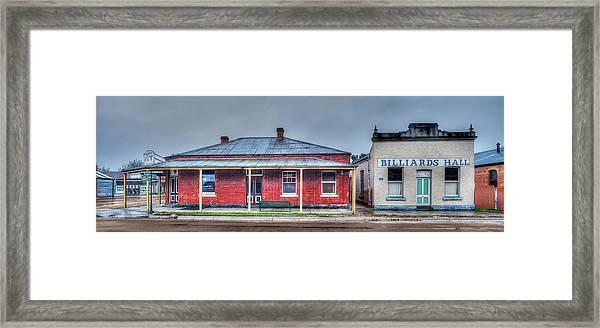 Grey Morning In Chiltern Framed Print