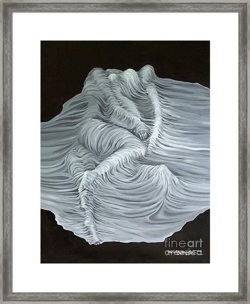 Greyish Revelation Framed Print