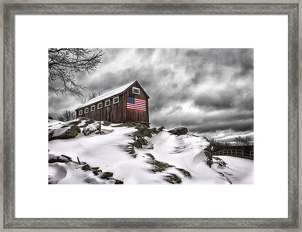 Greyledge Farm After The Storm Framed Print