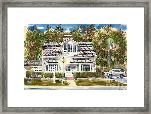 Greystone Inn II Framed Print