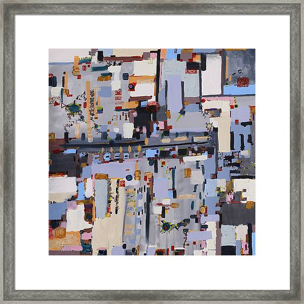Gridlock Framed Print