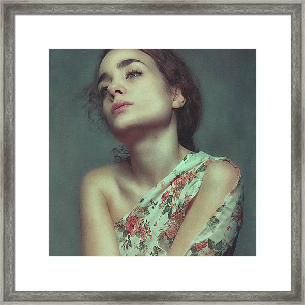 Grieve Framed Print