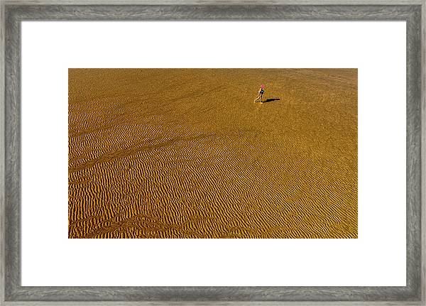 Grooves Framed Print by Jois Domont (