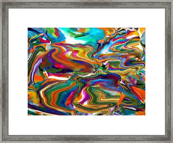 Groovy Framed Print