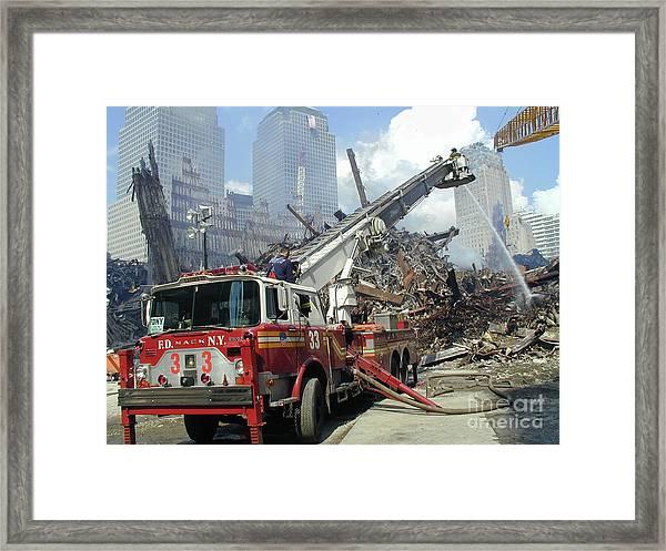 Ground Zero-1 Framed Print