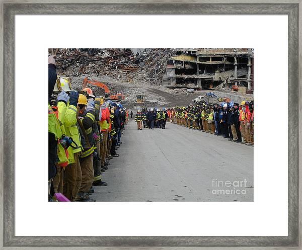 Ground Zero-3 Framed Print