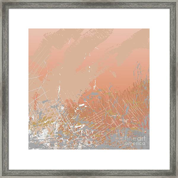 Grunge Retro Vintage Paper Texture Framed Print by Xpixel