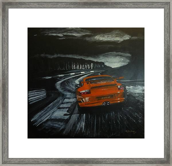 Gt3 @ Le Mans #2 Framed Print
