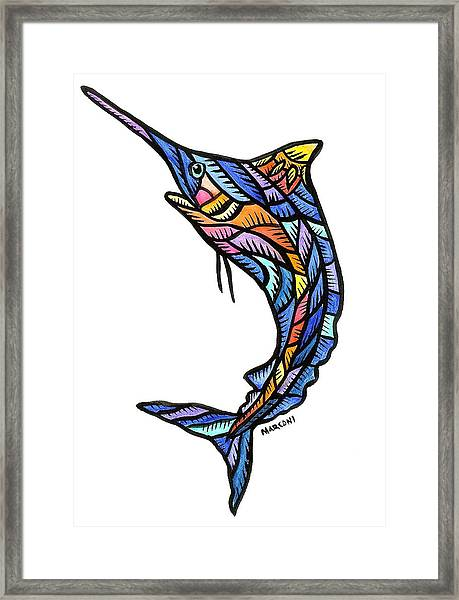 Guam Marlin 2009 Framed Print