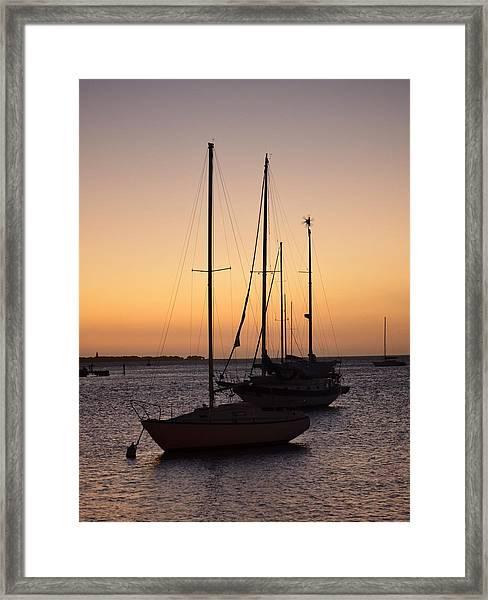 Guancha I Framed Print