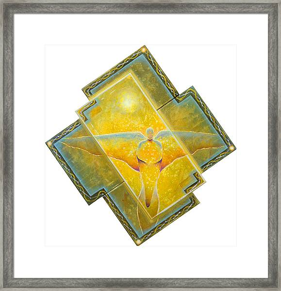 Guardian Of Light Framed Print