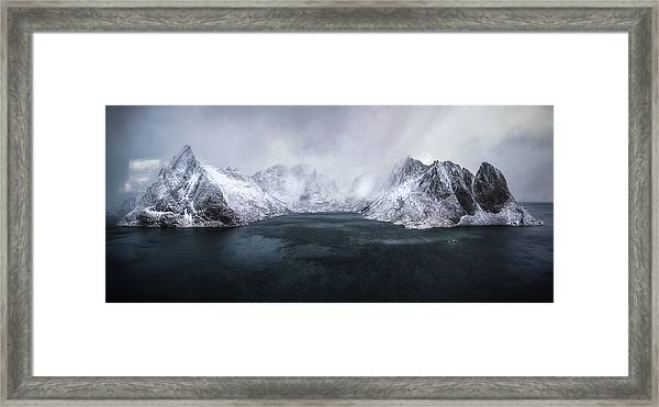 Guardian Of Lofoten Framed Print