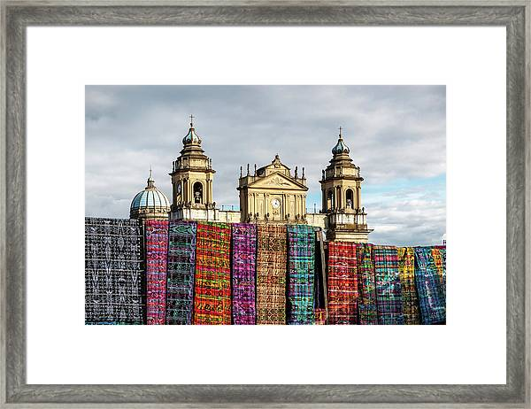 Guatemala City Cathedral Framed Print