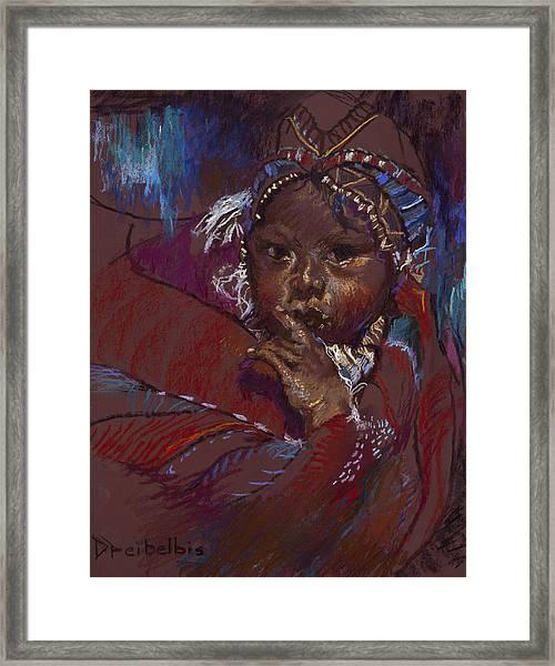 Guatemalan Child Framed Print