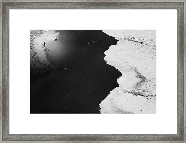 Guess Things Happen That Way Framed Print by Rui Correia