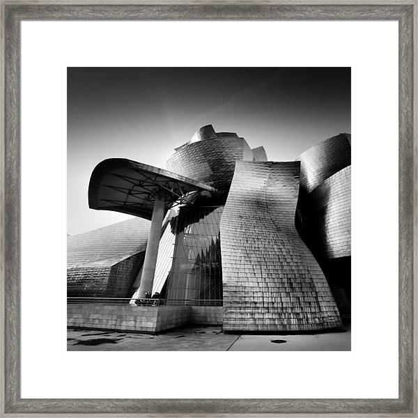 Guggenheim Bilbao Framed Print by Nina Papiorek