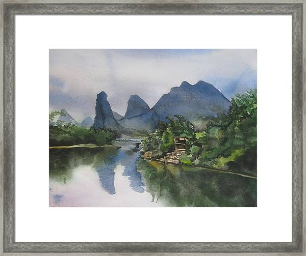 Gulin Reflection Framed Print