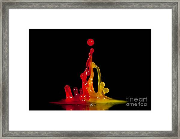 Gummy Drops Framed Print