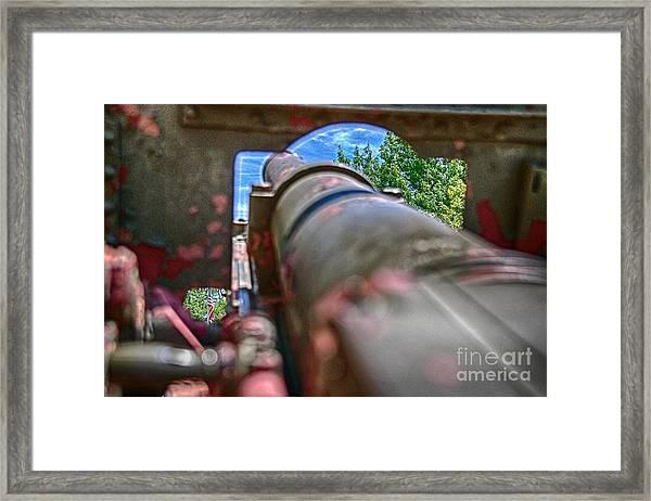 Guns And Glory Framed Print
