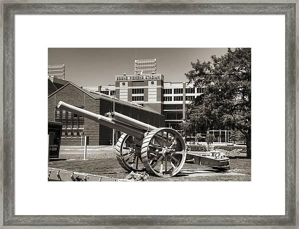 Guns On Campus Framed Print