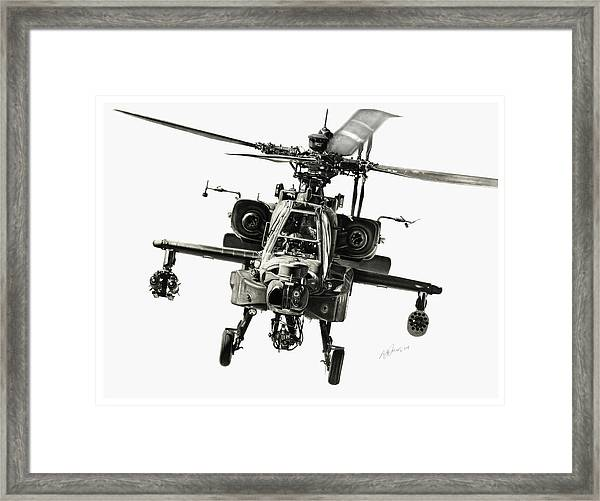 Gunship Framed Print