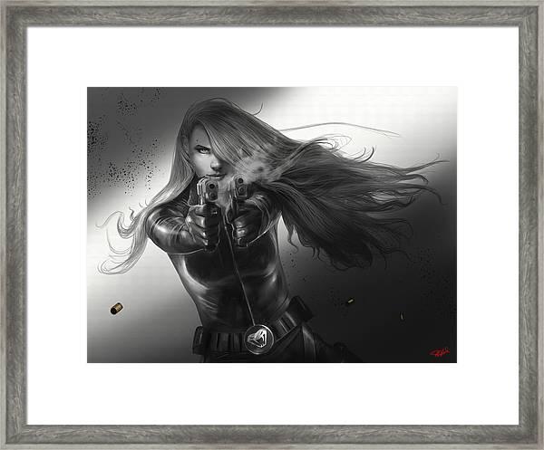 Gunslinger Framed Print