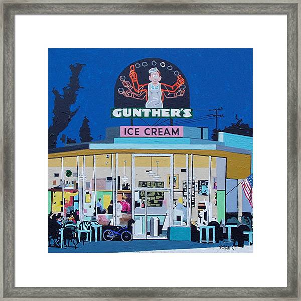 Gunthers Number 4 Framed Print by Paul Guyer