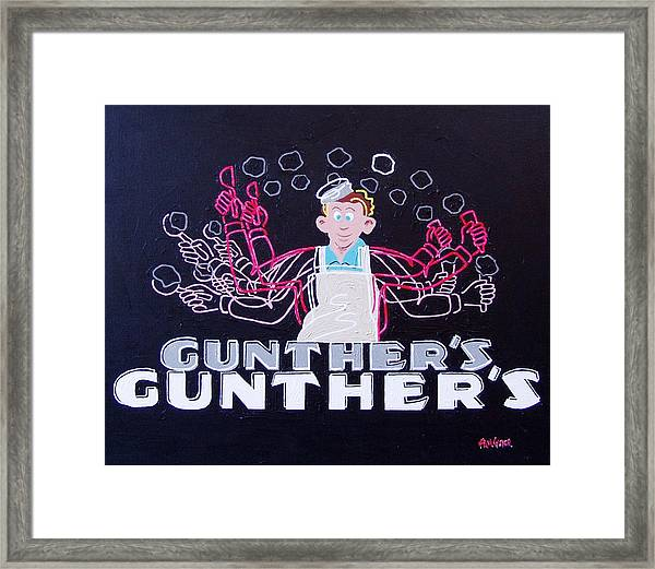 Gunthers Number 5 Framed Print by Paul Guyer