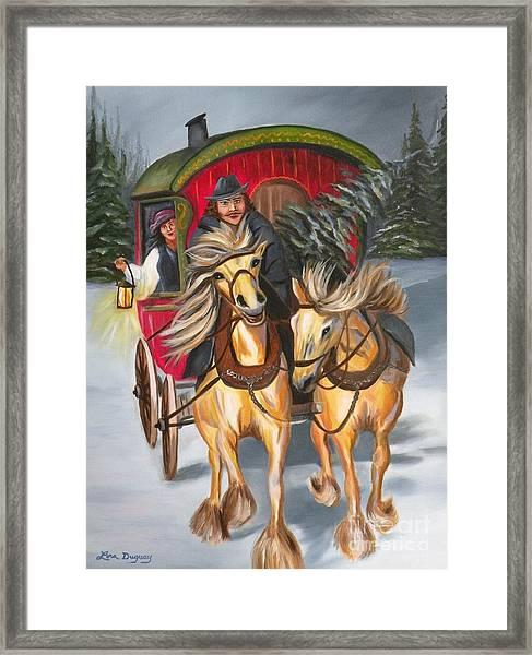Gypsy Christmas Framed Print