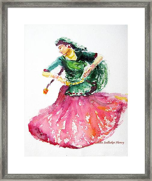 Gypsy Dancer Framed Print
