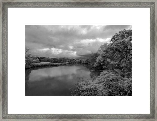 Hackensack River Framed Print