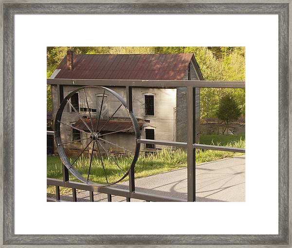 Hackney Mill Framed Print