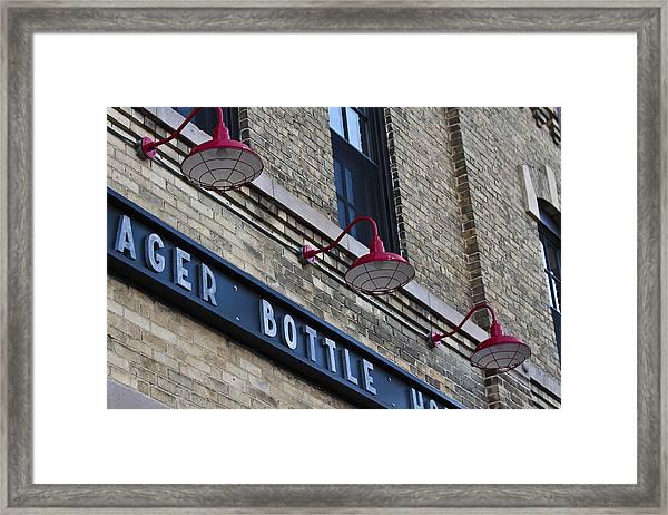 Hager Detail Framed Print