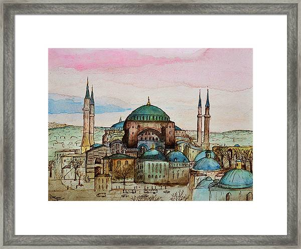 Hagia Sophia Framed Print
