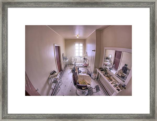 Hair Dressing Room At Fordyce Bath House - Hot Springs - Arkansas Framed Print