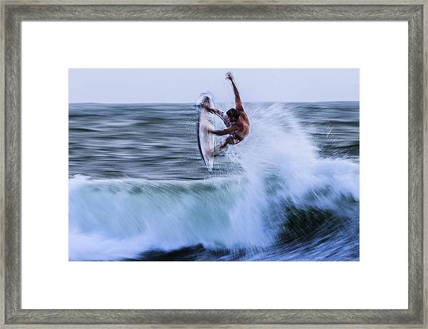Half 360 Framed Print by Massimo Mei