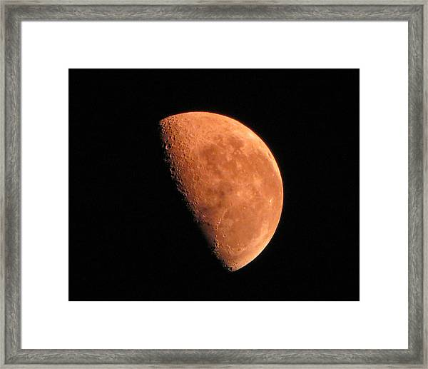 Half Moon Framed Print