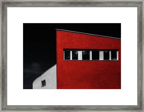 Hall House Framed Print