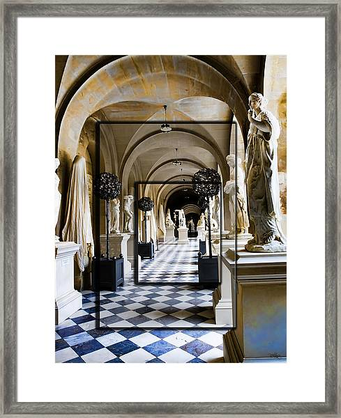 Halls Of Versailles Paris Framed Print