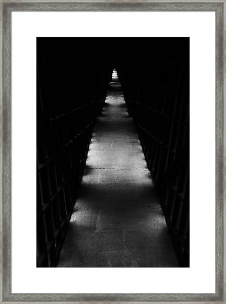 Hallway To Nowhere Framed Print