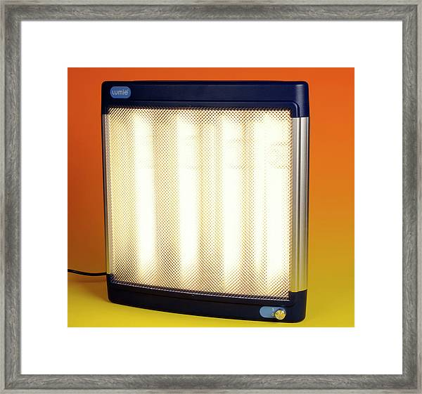 Halogen Heater Framed Print by Public Health England